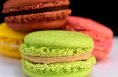 Como Fazer Macaron francês colorido